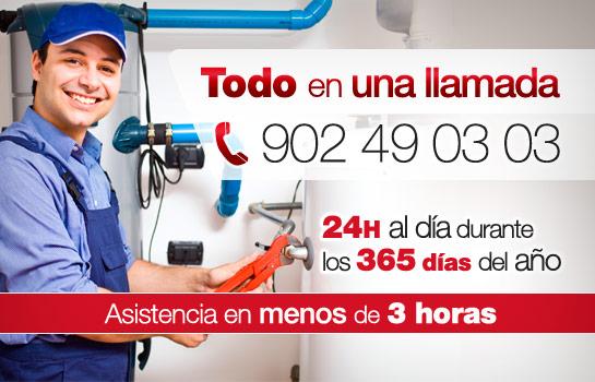empresa mantenimiento gas: