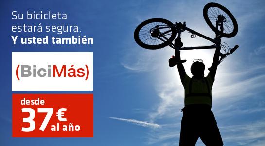 Las aseguradoras ya ofrecen seguros para ciclistas